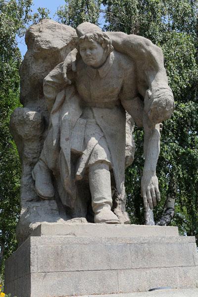 Мамаев курган. Скульптура «Родина-мать зовет!» мамаев курган высота