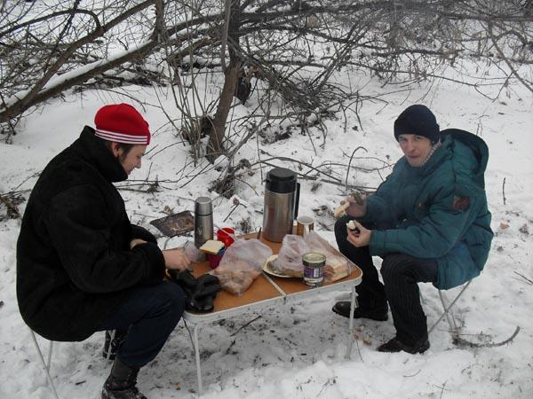 Картинки зимний пикник на природе