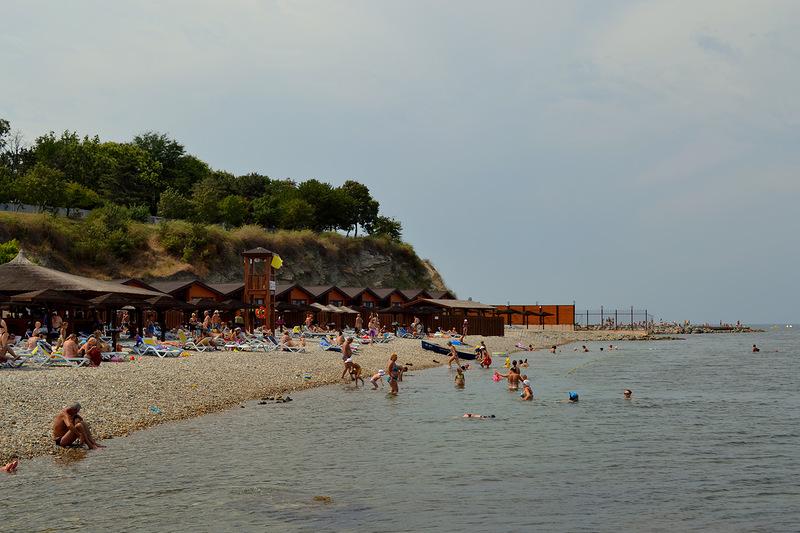 пляж малая бухта фото анапа