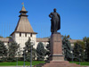 Площадь Ленина и памятник Ленину