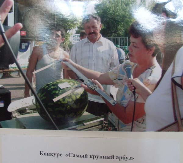 Астрахань, Музей Российский арбуз, фестиваль Российский арбуз
