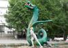 Фонтан-скульптура «Мальчик и Дракон»