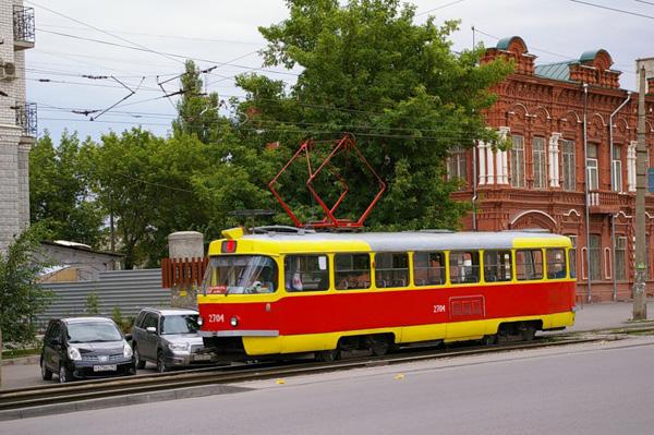 трамвая Волгограда