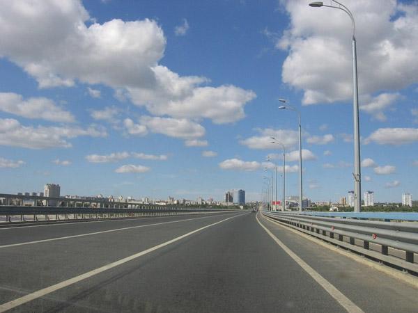 21 мая новый мост был перекрыт
