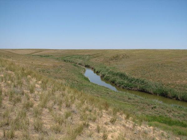 река Хара, озеро Эльтон